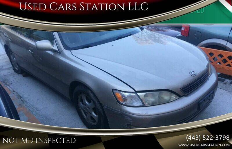 1999 Lexus ES 300 for sale at Used Cars Station LLC in Manchester MD