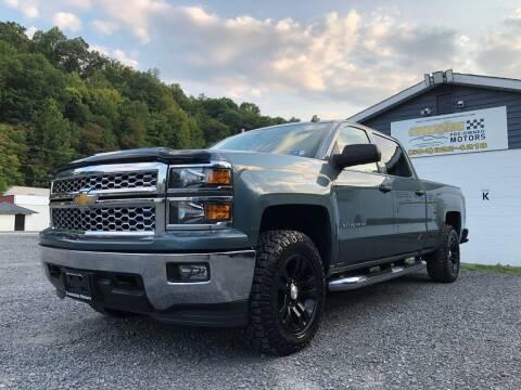 2014 Chevrolet Silverado 1500 for sale at Creekside PreOwned Motors LLC in Morgantown WV
