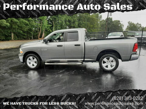 2009 Dodge Ram Pickup 1500 for sale at Performance Auto Sales in Hickory NC