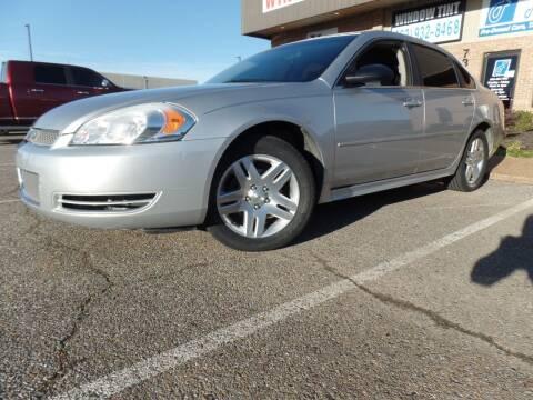2013 Chevrolet Impala for sale at Flywheel Motors, llc. in Olive Branch MS