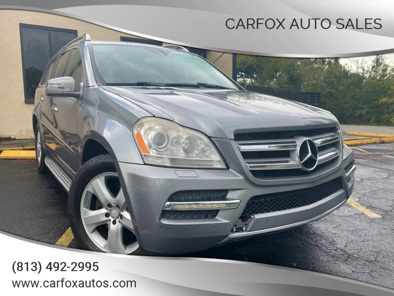 2012 Mercedes-Benz GL-Class for sale at Carfox Auto Sales in Tampa FL