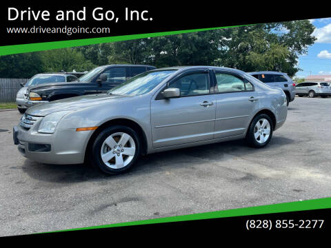 2008 Ford Fusion for sale at Drive and Go, Inc. in Hickory NC