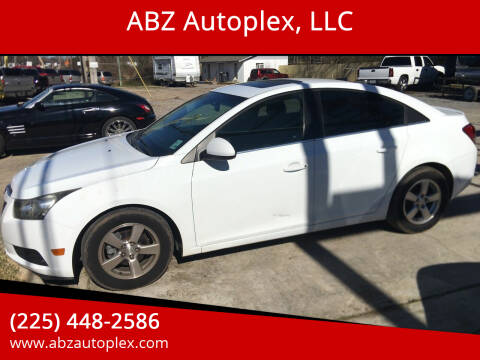 2012 Chevrolet Cruze for sale at ABZ Autoplex, LLC in Baton Rouge LA