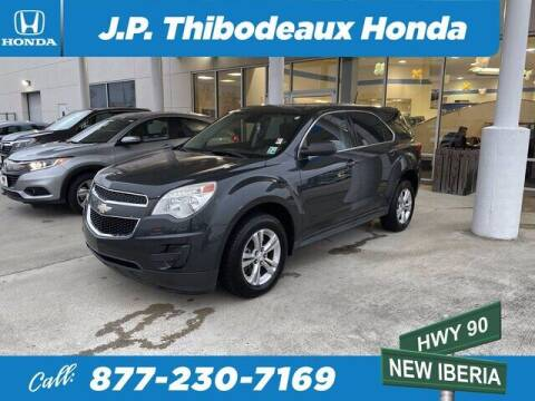2013 Chevrolet Equinox for sale at J P Thibodeaux Used Cars in New Iberia LA