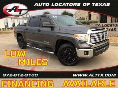 2016 Toyota Tundra for sale at AUTO LOCATORS OF TEXAS in Plano TX