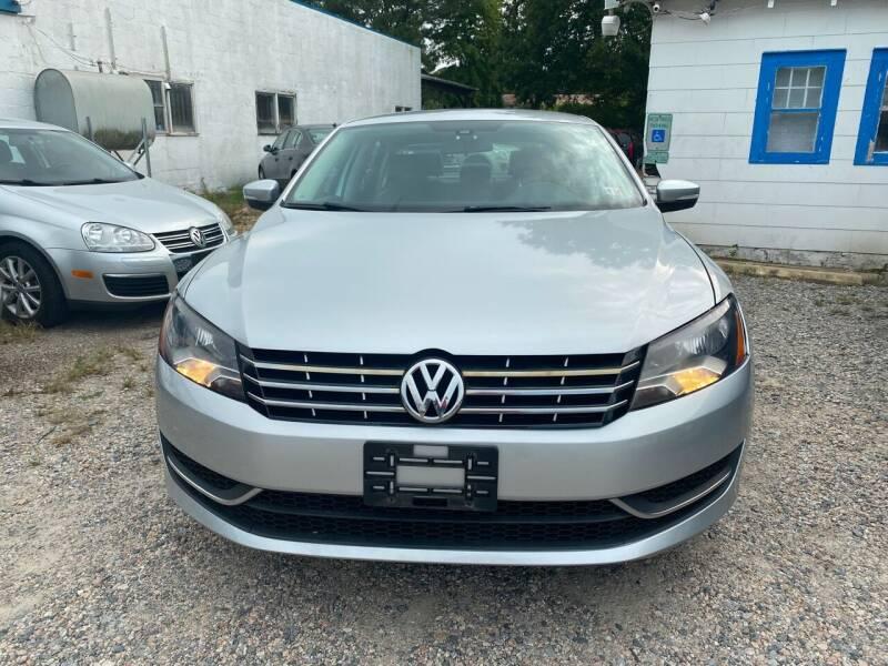 2015 Volkswagen Passat for sale at Advantage Motors in Newport News VA