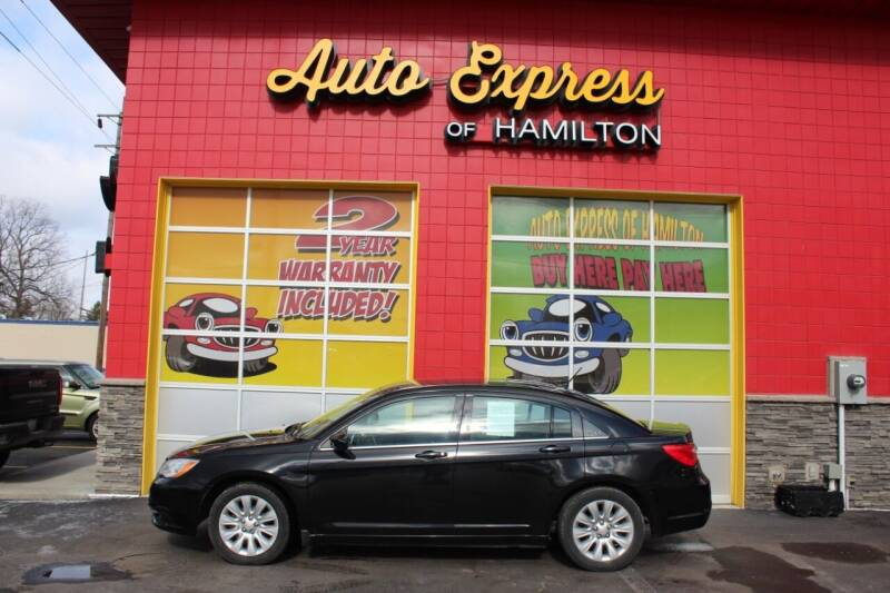 2013 Chrysler 200 for sale at AUTO EXPRESS OF HAMILTON LLC in Hamilton OH