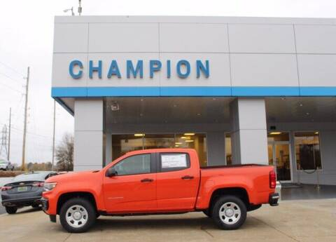 2021 Chevrolet Colorado for sale at Champion Chevrolet in Athens AL