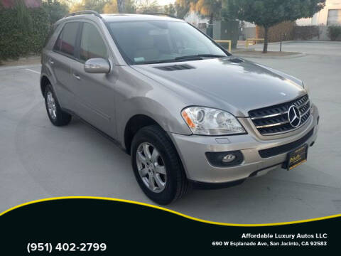 2007 Mercedes-Benz M-Class for sale at Affordable Luxury Autos LLC in San Jacinto CA