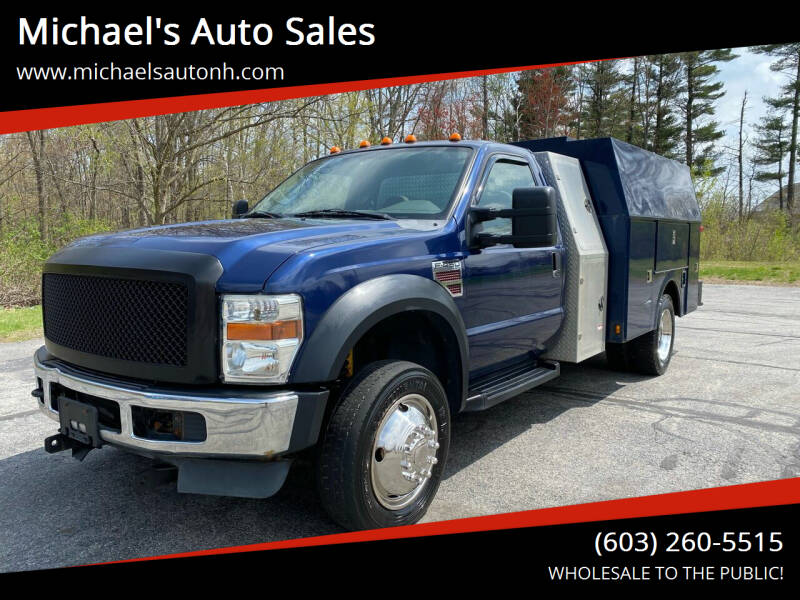 2008 Ford F-450 Super Duty for sale in Derry, NH