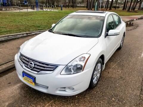 2012 Nissan Altima for sale at Amazon Autos in Houston TX