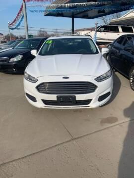 2013 Ford Fusion for sale at Bizzarro's Championship Auto Row in Erie PA