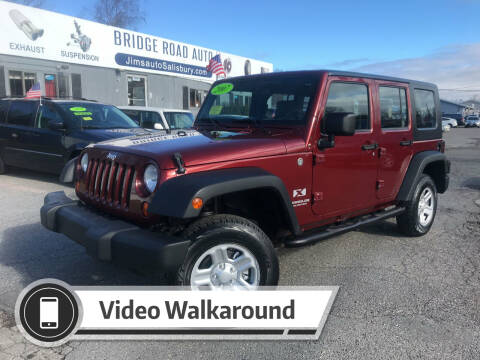 2007 Jeep Wrangler Unlimited for sale at Bridge Road Auto in Salisbury MA