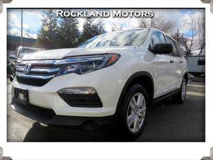 2017 Honda Pilot for sale at Rockland Automall - Rockland Motors in West Nyack NY