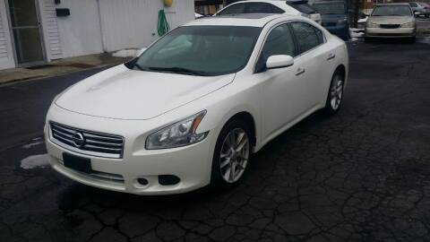 2014 Nissan Maxima for sale at Nonstop Motors in Indianapolis IN
