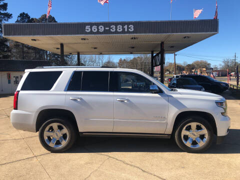 2017 Chevrolet Tahoe for sale at BOB SMITH AUTO SALES in Mineola TX