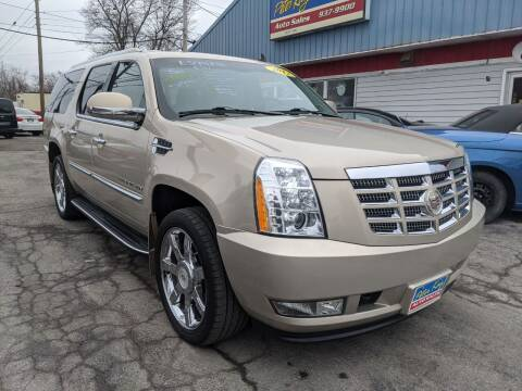 2012 Cadillac Escalade ESV for sale at Peter Kay Auto Sales in Alden NY