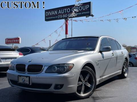 2006 BMW 7 Series for sale at Divan Auto Group in Feasterville PA