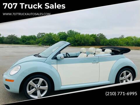 2010 Volkswagen New Beetle Convertible for sale at 707 Truck Sales in San Antonio TX