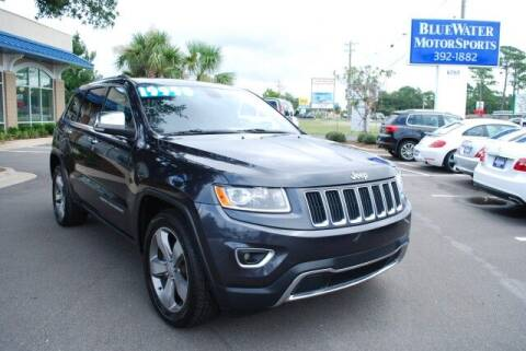 2014 Jeep Grand Cherokee for sale at BlueWater MotorSports in Wilmington NC