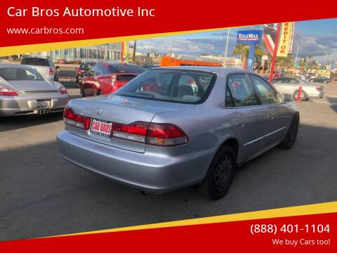 2002 Honda Accord for sale at Car Bros Automotive Inc in Lomita CA