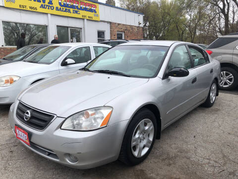 2002 Nissan Altima for sale at Sonny Gerber Auto Sales in Omaha NE