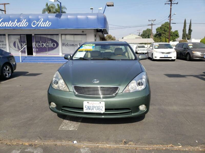 2005 Lexus ES 330 for sale at Montebello Auto Sales in Montebello CA