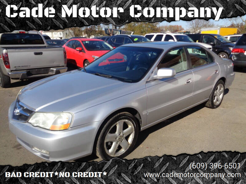 2003 Acura TL for sale at Cade Motor Company in Lawrenceville NJ