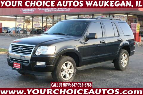 2009 Ford Explorer for sale at Your Choice Autos - Waukegan in Waukegan IL