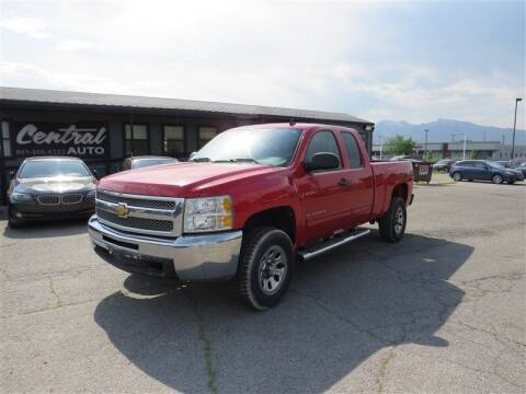 2012 Chevrolet Silverado 1500 for sale at Central Auto in South Salt Lake UT