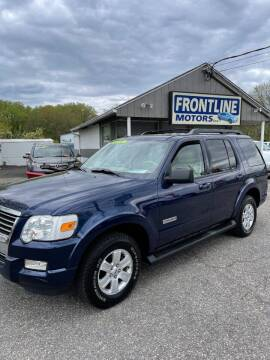 2008 Ford Explorer for sale at Frontline Motors Inc in Chicopee MA