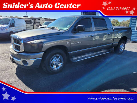 2006 Dodge Ram Pickup 1500 ST for sale at Snider's Auto Center in Titusville FL