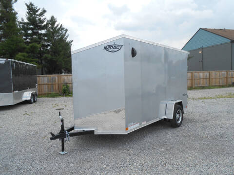 2022 Impact Tremor 6x12 for sale at Jerry Moody Auto Mart - Trailers in Jeffersontown KY