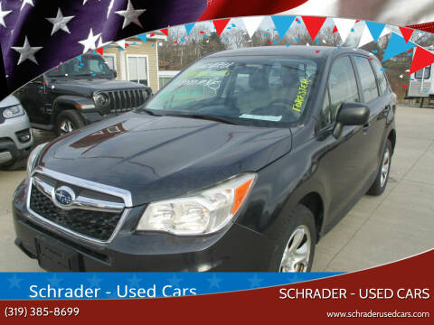 2014 Subaru Forester for sale at Schrader - Used Cars in Mt Pleasant IA