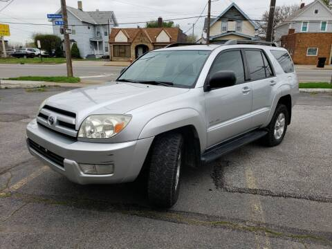 2003 Toyota 4Runner for sale at USA AUTO WHOLESALE LLC in Cleveland OH