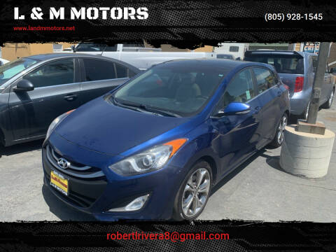 2013 Hyundai Elantra GT for sale at L & M MOTORS in Santa Maria CA