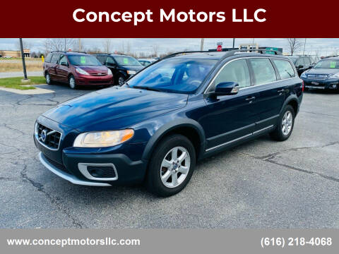 2010 Volvo XC70 for sale at Concept Motors LLC in Holland MI