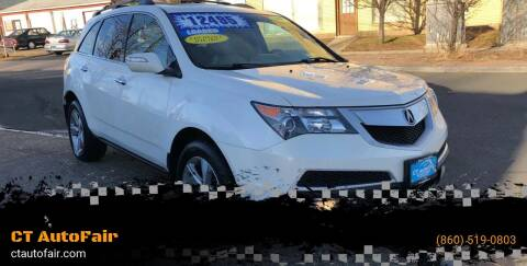2011 Acura MDX for sale at CT AutoFair in West Hartford CT