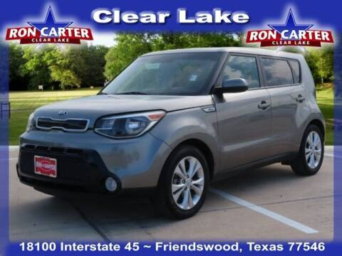 2016 Kia Soul for sale at Ron Carter  Clear Lake Used Cars in Houston TX