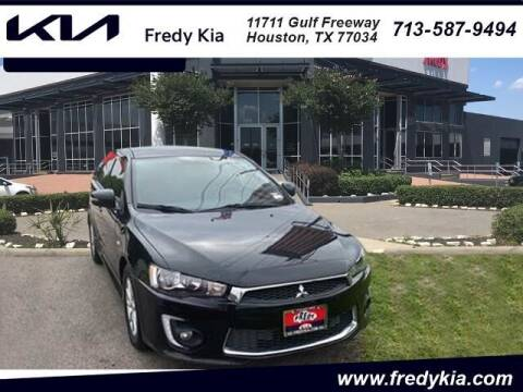 2016 Mitsubishi Lancer for sale at FREDY KIA USED CARS in Houston TX