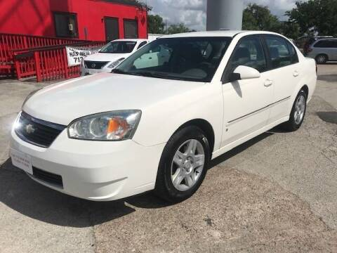 2006 Chevrolet Malibu for sale at Talisman Motor City in Houston TX