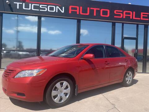 2007 Toyota Camry for sale at Tucson Auto Sales in Tucson AZ