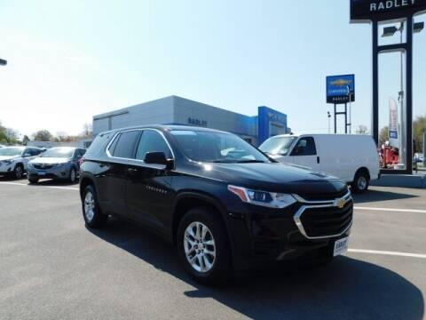 2018 Chevrolet Traverse for sale at Radley Cadillac in Fredericksburg VA