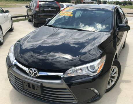 2015 Toyota Camry for sale at Raj Motors Sales in Greenville TX