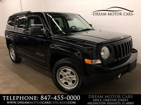 2015 Jeep Patriot for sale at Dream Motor Cars in Arlington Heights IL