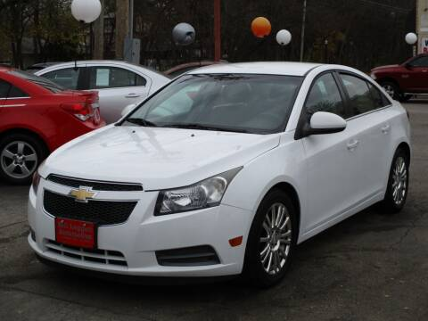 2013 Chevrolet Cruze for sale at Bill Leggett Automotive, Inc. in Columbus OH