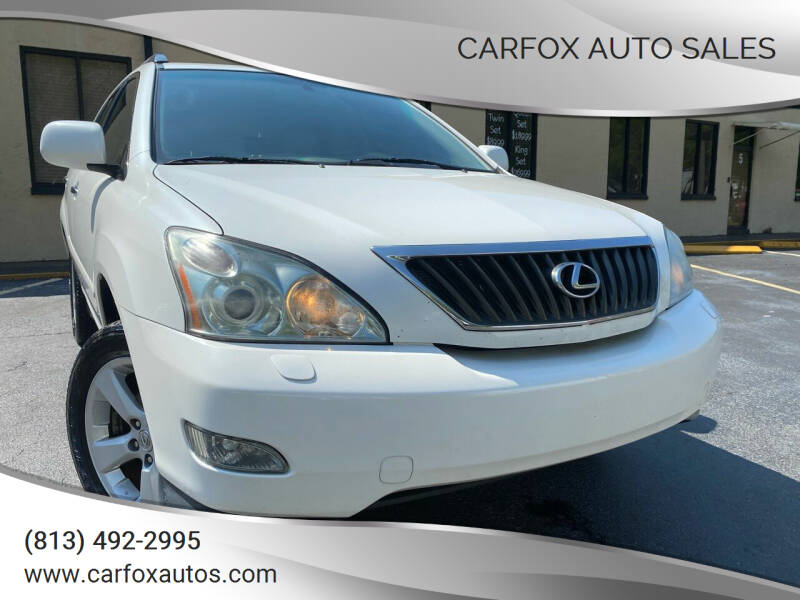 2008 Lexus RX 350 for sale at Carfox Auto Sales in Tampa FL