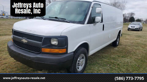 2009 Chevrolet Express Cargo for sale at Jeffreys Auto Resale, Inc in Clinton Township MI
