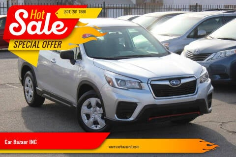 2019 Subaru Forester for sale at Car Bazaar INC in Salt Lake City UT