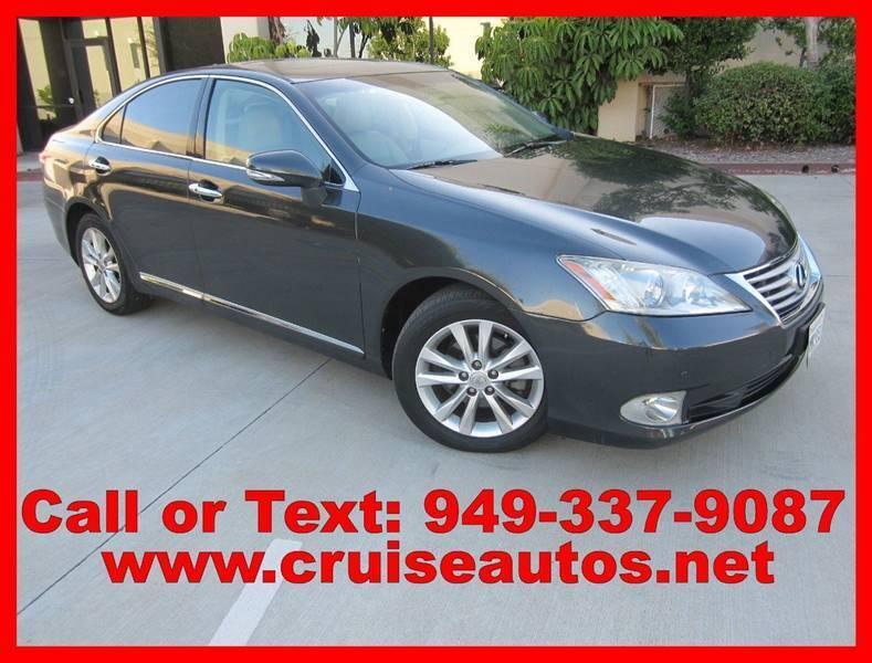 2010 Lexus ES 350 for sale at Cruise Autos in Corona CA